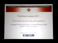 Rivers Lecture 18/03/15