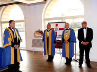 Installation Ceremony & Dinner 21/07/14