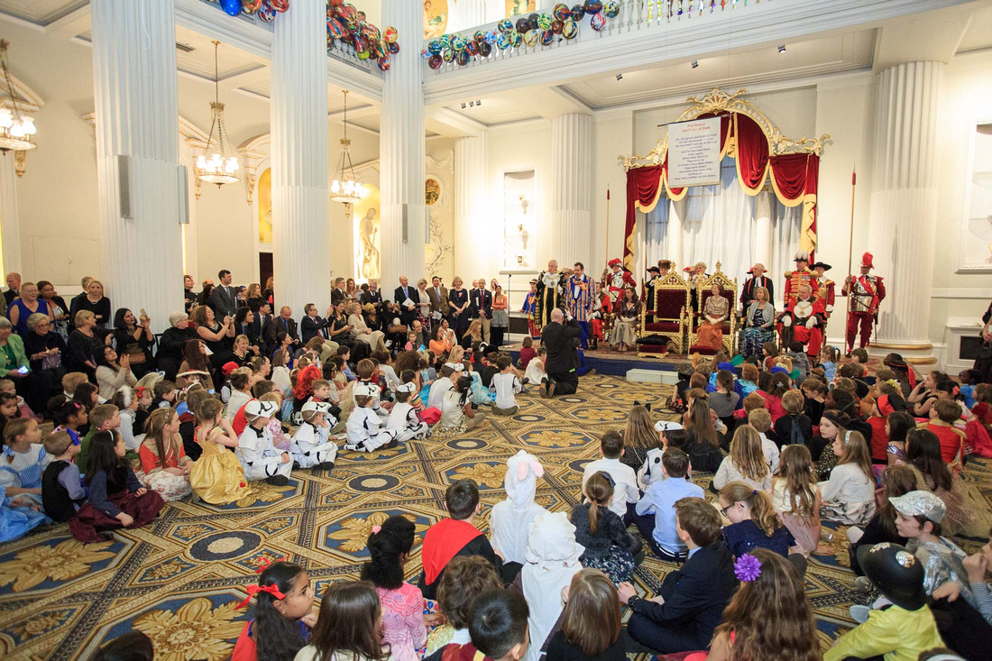 Lord Mayor's Tea Party at Mansion House 2017